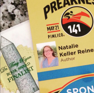 Preakness Day Credentials and book award stickers!
